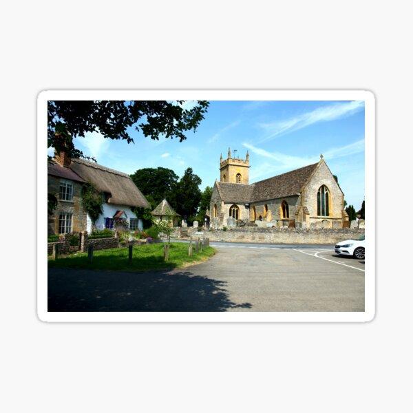 The Church at Bretforton. Sticker