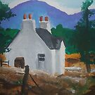 Landscape with a Cottage? by Dani Louise Sharlot