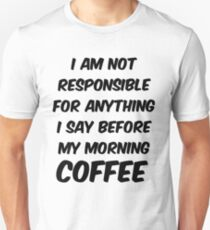 coffee love Unisex T-Shirt