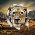 Lioness of Africa by NadineMay