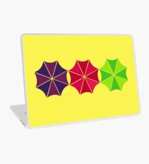 Singing in the Rain Laptop Skin
