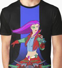 Hyper Quest Star Warrior Graphic T-Shirt