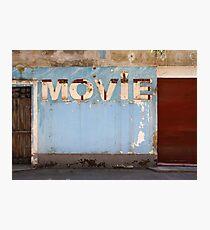 Movie Photographic Print