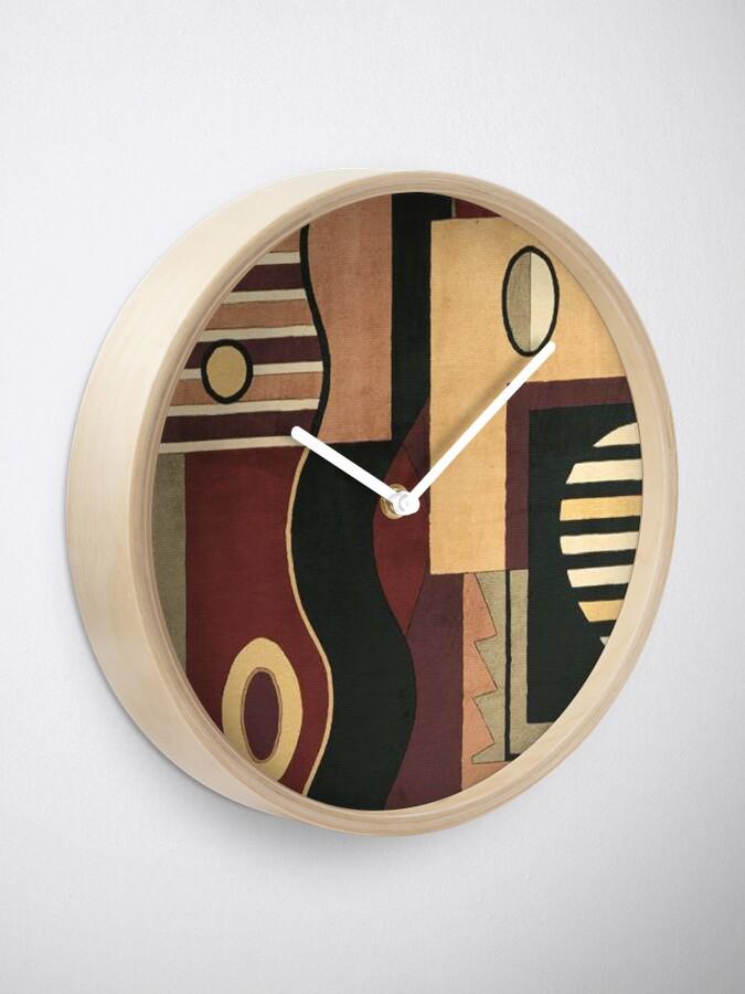 Alternative Ansicht von # 107, KUNST, Abstrakt, Geometrisch, Contemp, BN, TN BK Uhr