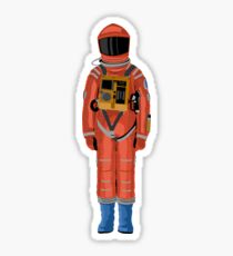 Dave the astronaut full suit from 2001: A Space Odyssey Sticker