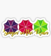 Im Regen singen Sticker