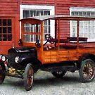 Model T Station Wagon by Susan Savad