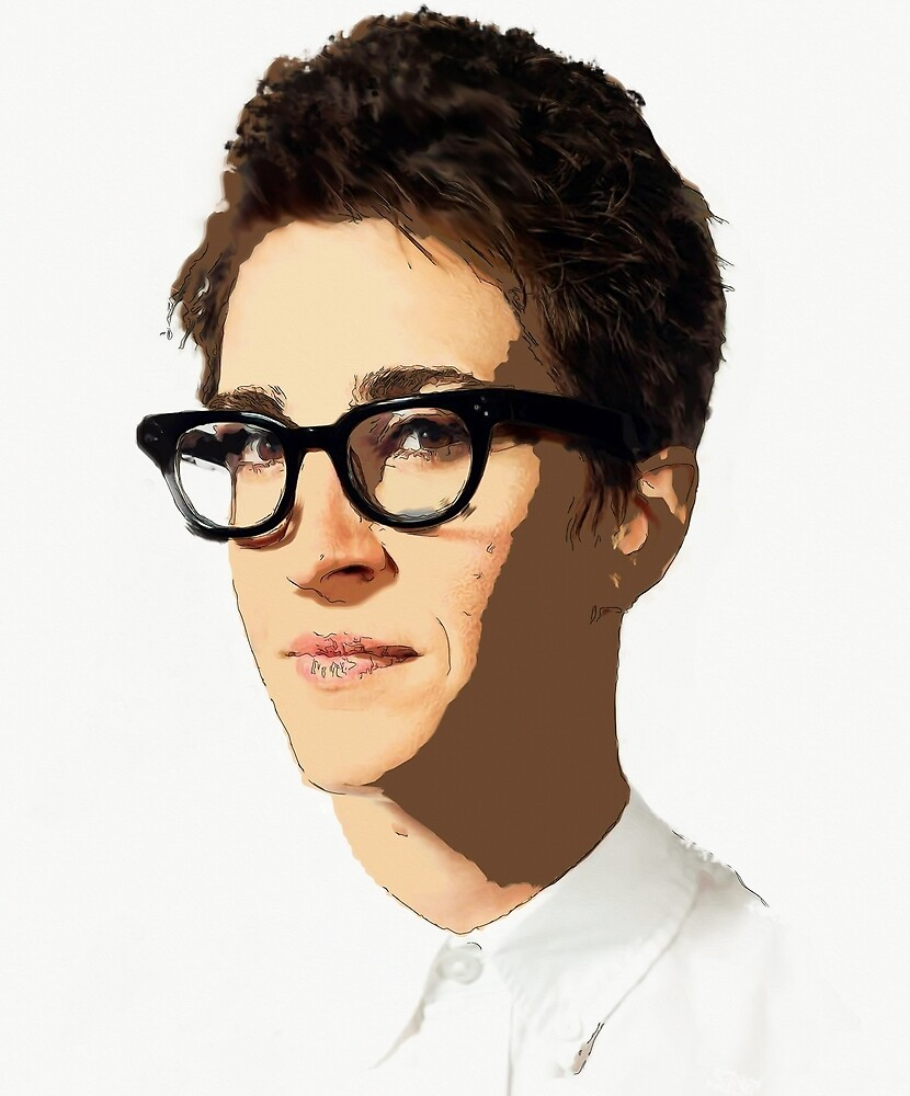 Rachel Maddow [Mixed Media] #Maddow10Years  by #PoptART products from Poptart.me