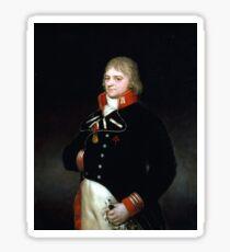 Goya Ignacio Garcini y Queralt, Brigadier of Engineers Sticker