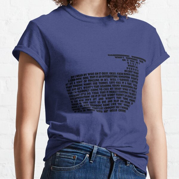 Hitchhikers Whale Quote Classic T-Shirt
