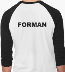 Forman Men's Baseball ¾ T-Shirt