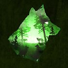 Green Wolf by DVerissimo