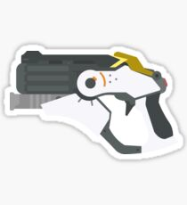 Mercy Gun Sticker