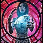 Cyberpunk Painting 080 by Ian Sokoliwski