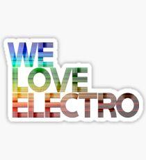 We love Electro Sticker