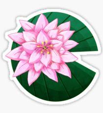 Waterlily Sticker Sticker