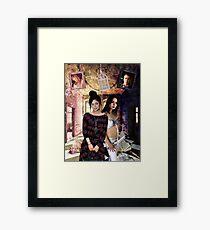 Faith devil or angel Framed Print