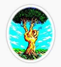 The Peace Tree Sticker