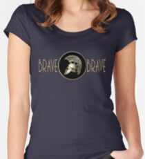 BRAVE Brand Women's Fitted Scoop T-Shirt