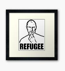 Steve Jobs : Syrian Refugee Framed Print
