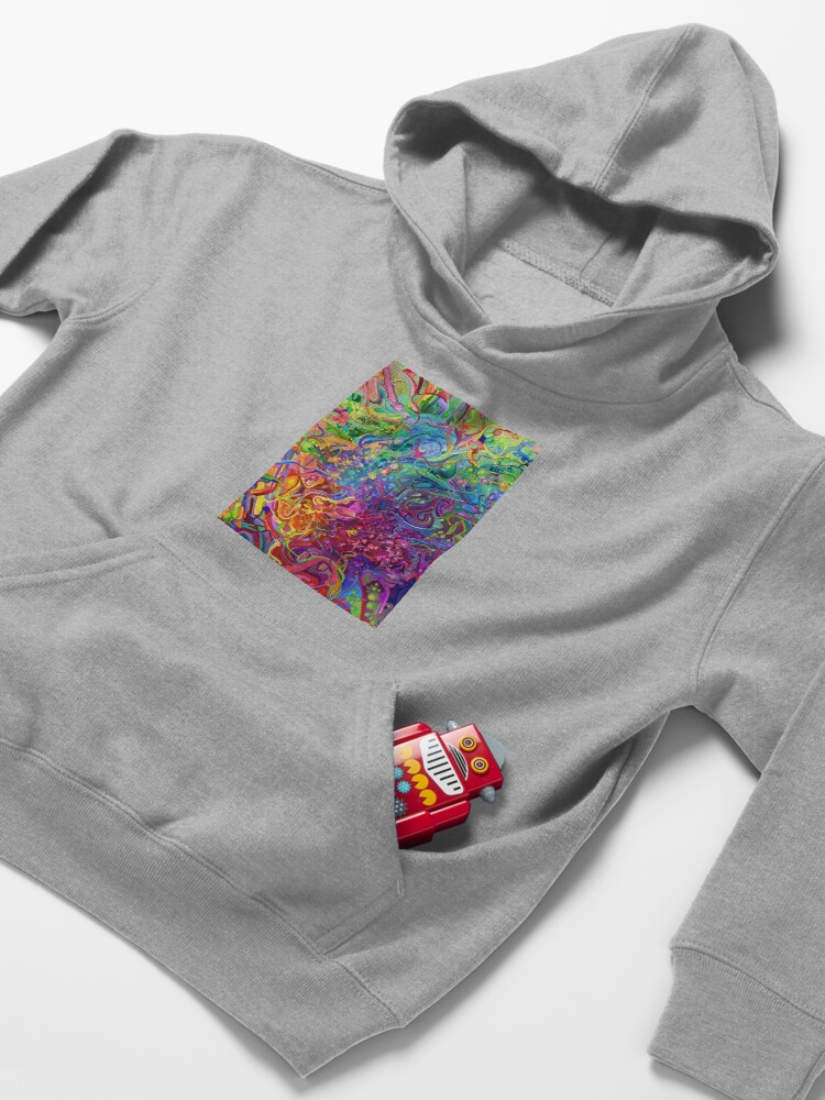 Alternate view of This Page Intentionally Left Blank - Digital Art & Painting Kids Pullover Hoodie