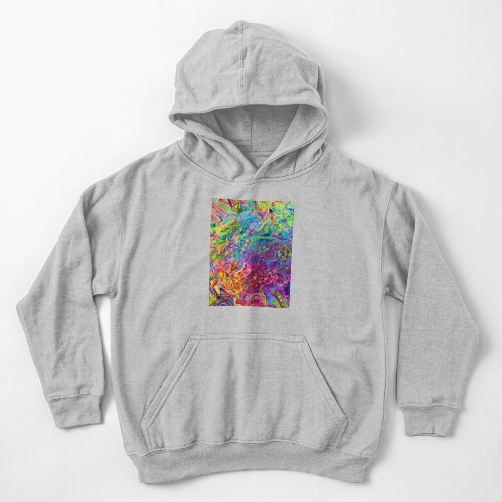 This Page Intentionally Left Blank - Digital Art & Painting Kids Pullover Hoodie