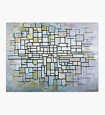Composition in Blue Gray and Pink Piet Mondrian, 1913 Photographic Print
