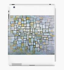 Composition in Blue Gray and Pink Piet Mondrian, 1913 iPad Case/Skin