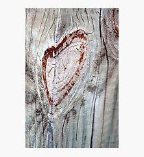 Smiley Heart Photographic Print