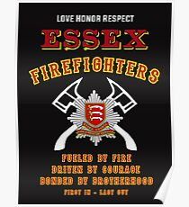 Essex Firefighters Poster