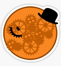 A Clockwork Orange Gears and Cogs Sticker