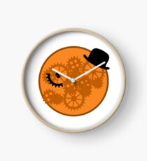 A Clockwork Orange Gears and Cogs Clock