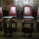 Chairs for the bishops by SWEEPER