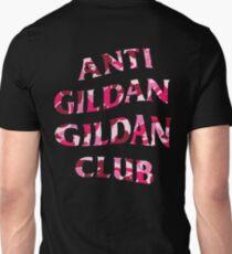 Anti Gildan Gildan Club | Black T-shirt with Bape Pink | Back Print T-Shirt
