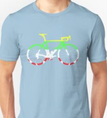 Bike Tour de France Jerseys (Horizontal) (Big)  Unisex T-Shirt