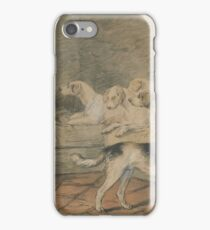 Dogs, by James Ward. iPhone Case/Skin