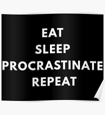 Procrastinate Poster