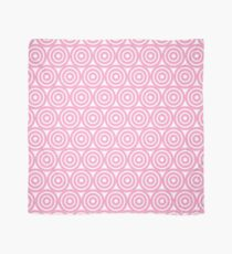 Circle Pattern - Repeating Pink Scarf