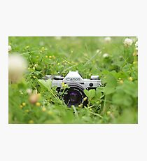 Canon and Clover Photographic Print
