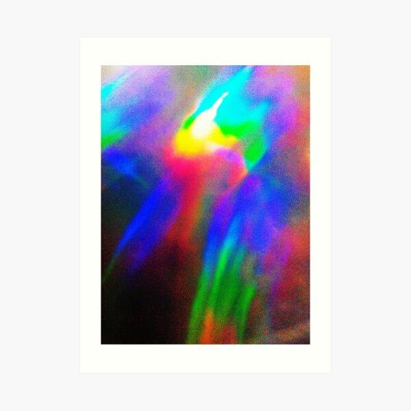 Heavenly Comet Art Print