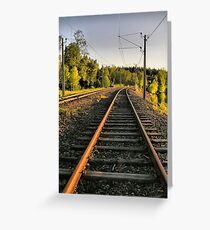 Railroad Greeting Card