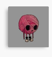 Yarn Kid Canvas Print