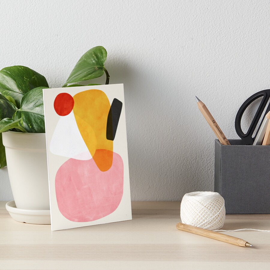 Mikado Art Board Print
