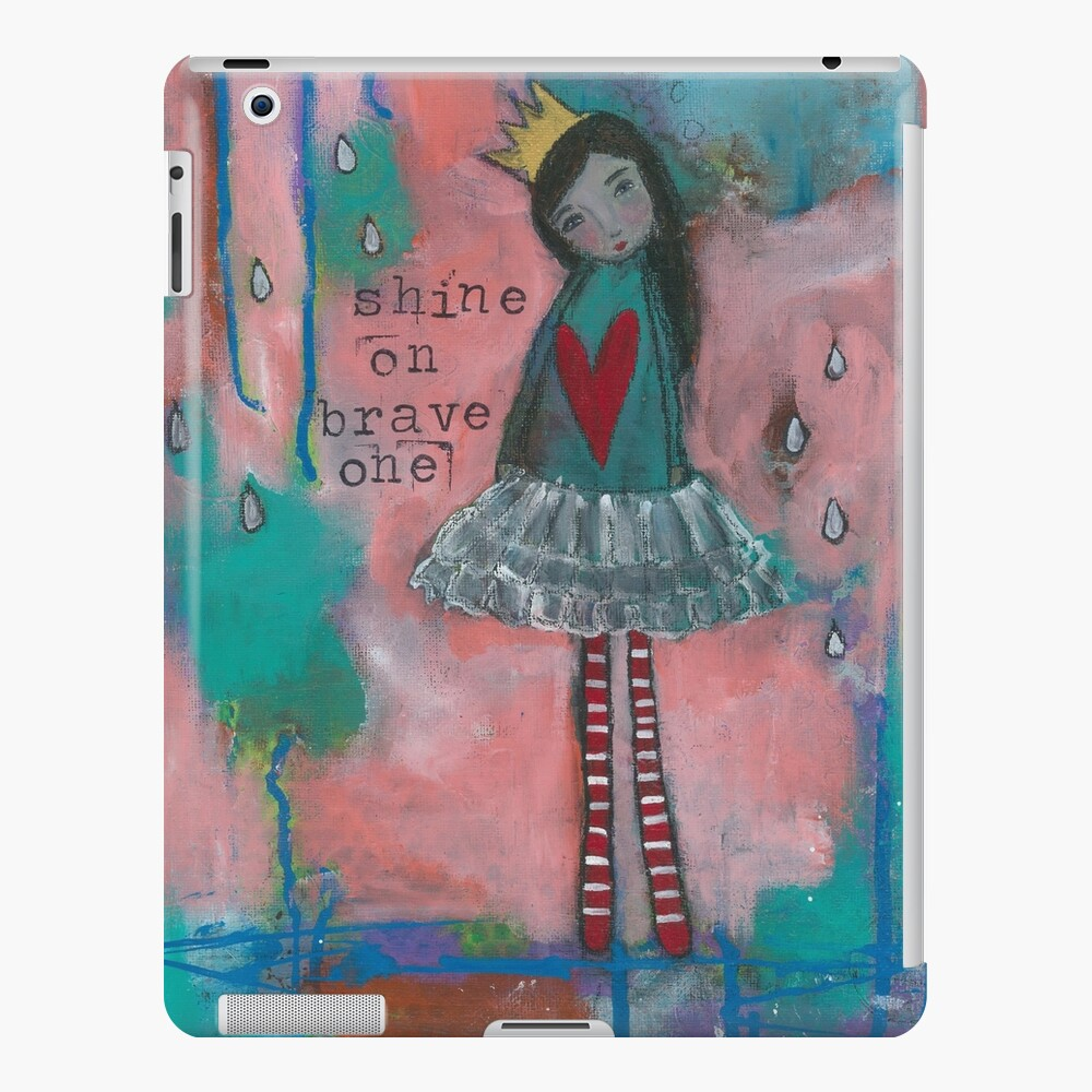 """Shine On Brave One"" iPad Case & Skin"