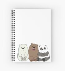 We Bare Bears Spiral Notebook