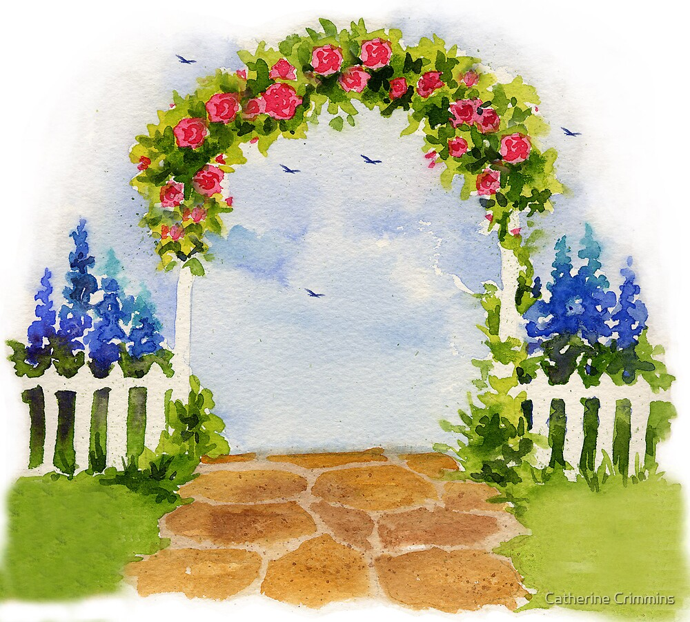 Painted Garden by Catherine Crimmins