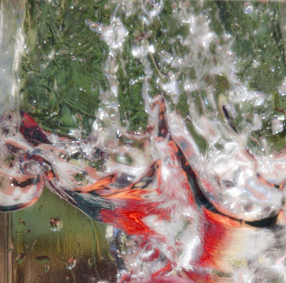 Abstract water by Deidre Cripwell