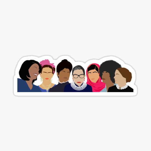 Feminist Girl Gang- Squad Goals (with Gloria) Sticker