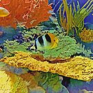 In the Coral Garden 10 by Lynda Lehmann