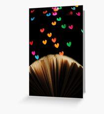 Book Love Greeting Card